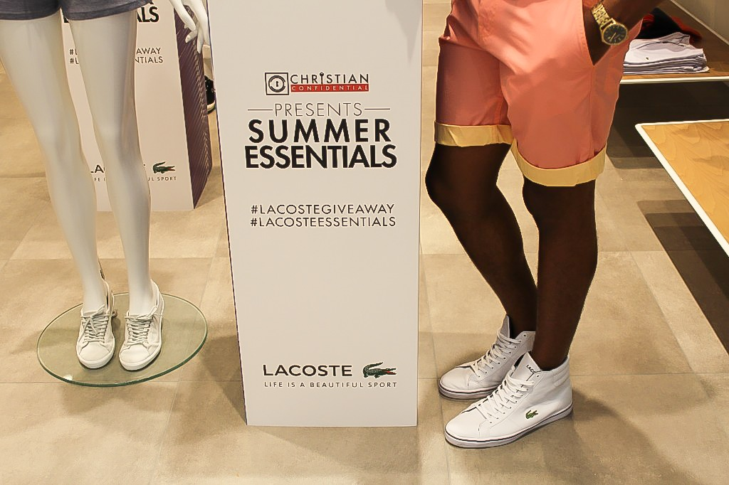 SS14 Lacoste Essentials | Style by Christian Confidential