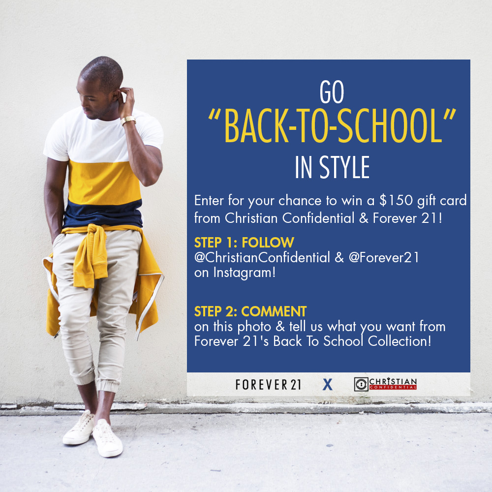 Back2School | Christian Confidential Forever 21